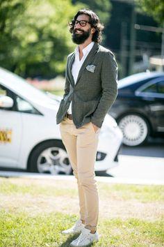 Street Style From Milan Fashion Week | Men's Fashion | Menswear | Moda Masculina | Shop at designerclothingfans.com
