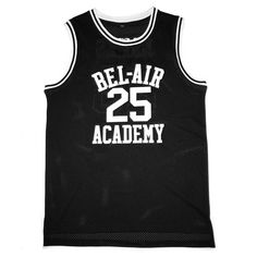 fd02855932bb Bel Air Acacdemy Carlton Banks  25 Fresh Prince Basketball Jersey