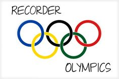Elementary Music Methods: Real Life Edition: Recorder Olympics