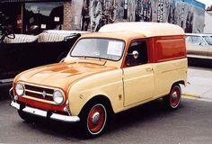 1971 Renault R4 van
