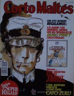 Hoy lunes desayuno aventurero con Corto Maltés: Corto Maltés. Publicación mensual, Año 1, nº 1