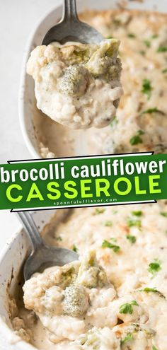 The whole family will enjoy this healthier, low-carb take on a comfort food favorite! Broccoli Cauliflower Casserole is easy to make. With all the flavors you love but without the breadcrumbs, this creamy, cheesy Thanksgiving side dish is perfect for your dinner menu!
