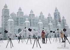 فستیوال یخ و برف هاربین چین