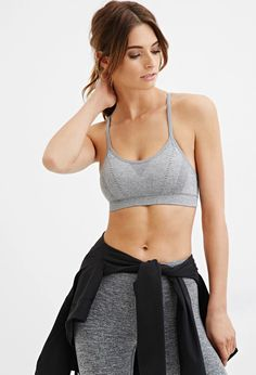 Forever 21 Galaxy Print Sports Bra Workout Clothes for Women | #fitness #model. #exercise #yoga. #health #diet #fit #nike #abs #workout #weight | SHOP @ FitnessApparelExpress.com