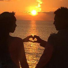 夕日が綺麗な時間帯に撮るウェディングフォトが素敵すぎる   marry[マリー]