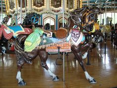 Carousel Horse by mailgirl333, via Flickr
