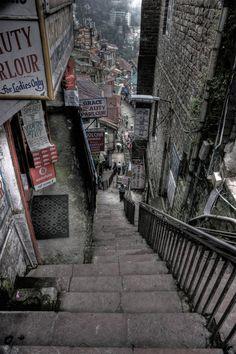 Shimla, Himachal Pradesh, India One of the best places to visit. City Landscape, Urban Landscape, Urban Photography, Street Photography, Digital Foto, Shimla, City Aesthetic, Urban Aesthetic, Incredible India