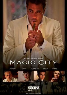 Magic City (2012) Ike Evans is a king in Miami thanks to his hotel, which hosts celebrities of every stripe. But things change when Castro's rebels take over Cuba in 1959. Ike's hunger to stay on top makes him a pawn of the mob in a deal he's hidden from his family.