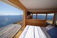 Cabaña Container N Borde Lago Parking, Chile, Deck, Outdoor Decor, Home Decor, Lakes, Apartments, Decoration Home, Chili