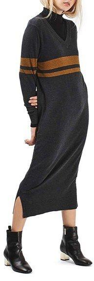 Topshop Midi Sweater Dress