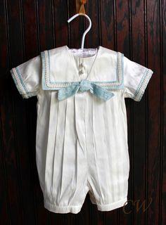 Christening Wardrobe - Alexander Silk Christening Outfit, $149.00 (http://www.christeningwardrobe.com/alexander-silk-christening-outfit/)