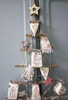 calendrier de l'avent - tampons la compagnie des elfes Tampons, Home Deco, Advent Calendars, Holiday Decor, Images, Blog, Diy, Scrapbooking, Decorations