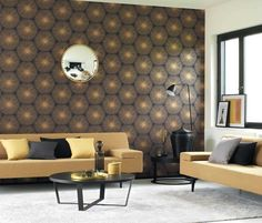 CASADECO HELSINKI : Full of 'Scandinavian' chic, these designs stun us with the richness of the brilliantly sophisticated Swedish design codes… Designed on a . Casadeco Wallpaper, Charcoal Wallpaper, Wallpaper Direct, Trendy Wallpaper, Wallpaper Online, Wallpaper Ideas, Helsinki, Living Room Designs, Living Spaces