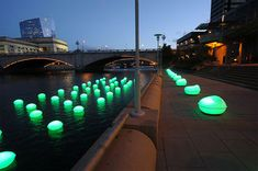 Light Drift: Creating Connections Between Land And Water