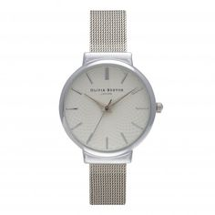 Also want this one..Olivia Burton - The Hackney Silver Mesh