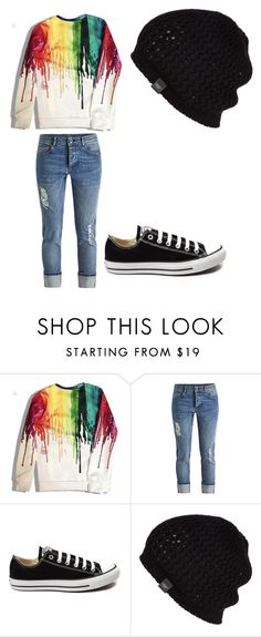 """be artsy"" by paigebrite on Polyvore featuring Converse, UGG Australia, women's clothing, women, female, woman, misses and juniors"