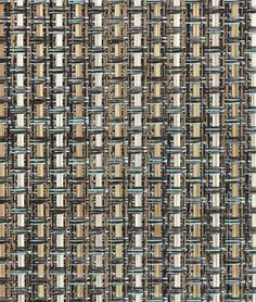 Phifertex PVC Wicker Weaves - Cane Wicker Aluminum Fabric | onlinefabricstore.net