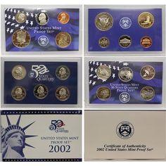 2001-S Native American Clad Dollars Sacagawea  Deep Cameo Mirror Proof Upper