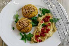 Süßkartoffel Falafel & Avocado Dip