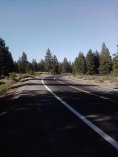 On my bike trail