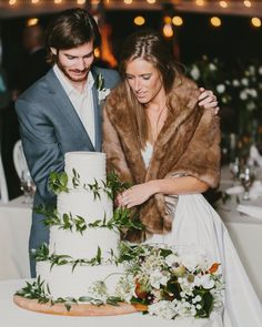 "Amsale Bridal on Instagram: ""Cozy up in ""Noah"" | #RealWedding Robert J Hill via @elizabethannedesigns"""
