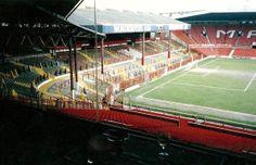 Stadium view. OLD TRAFFORD. ~ THE VINTAGE FOOTBALL CLUB