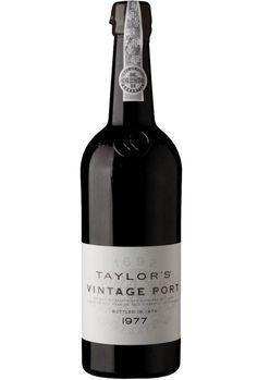 TAYLOR'S VINTAGE 1977 PORT WINE