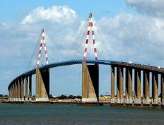 Le pont de St Nazaire, France, 3,3 km de long
