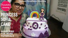 happy birthday my dear sister cake Happy Birthday Princess Cake, Easy Princess Cake, Happy Birthday Dear Sister, Princess Theme Cake, Princess Torte, Princess Sofia, 1st Birthday Cake Designs, Girls 2nd Birthday Cake, Baby Birthday Cakes