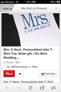 Wanna put our last name in the place of Mrs.