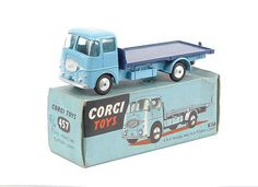 Mettoy Corgi Toys No.457 ERF Platform Lorry 1957-65