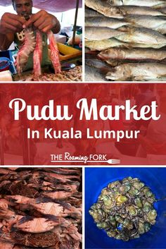 Pudu lies just on the outskirts of Kuala Lumpur, Malaysia and is home to Pasar Besar, the city's largest wet and dry market. Simply known as Pudu Market, here you will find a bustling market offering the usual wide array of goods. Come check it out! Kuala Lumpur, Penang, Asian Street Food, Backpacking Asia, Asian Market, Malaysian Food, Wet And Dry, Foodie Travel, Asia Travel