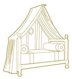 Napoleonic Canopy Bed