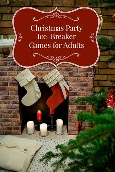 Planning your holiday party? Don't let awkward silence fill the air! Plan a few of these fun Christmas party games for adults to break the ice! #christmasgamesforadults