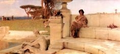 The Voice of Spring - Sir Lawrence Alma-Tadema - WikiArt.org