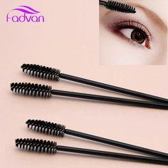 8830d86aafc US $2.85 |Aliexpress.com : Buy 50pcs/Pack Disposable Makeup Tool Eyelash  Brush Plastic Micro Wand Eye Lash Brush Fadvan Black/Pink/ Color Eyelashes  Brushes ...