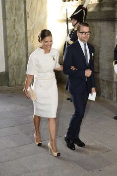 Crown Princess Victoria & Daniel, 15 September 2013