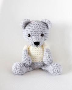 Crochet Teddy Bear - Free Pattern! - Leelee Knits