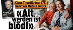 Claus Theo Gärtner (73) mit Sarah Gärtner (38) verheiratet Interview, Star Wars, Tv, Music, Starwars, Tvs, Television Set, Television