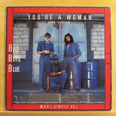 BAD BOYS BLUE - You´re a Woman - Vinyl 12  Maxi - Top Rare Italo Disco Pop