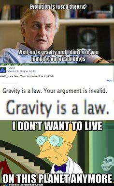 """IT'S BOTH! """"So when we are scientifically discussing gravity, we can talk about the law that describes the attraction between two objects, and we can also talk about the theory that describes why the objects attract each other."""""""