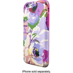 Isaac Mizrahi New York - Blended Florals Case for Apple® iPhone® 6 - Multicolor