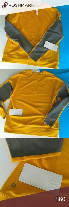 Lululemon men's Pave crew Brand new. Comfortable sweat-wicking fabric. Lululemon Shirts Sweatshirts & Hoodies