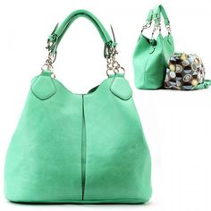 MINT GREEN HANDBAG PURSE FASHION WOMAN TREND COLOR BAG