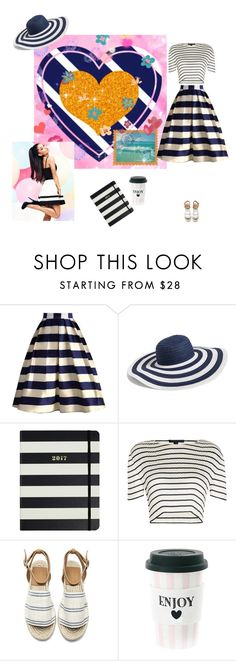 """""""Untitled #1289"""" by alla-chernets ❤ liked on Polyvore featuring Chicwish, Vera Bradley, Kate Spade, Alexander Wang and Lipsy"""