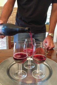 Tasting The Lambrusco di Sorbara: Made By: Garuti Winery.