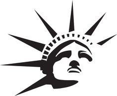 statue of liberty image logo csp20049549 usa logo pinterest rh pinterest com statue of liberty lego marvel statue of liberty lego set