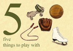 5 is for Five Things to Play With