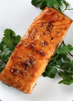 Asian Salmon Steaks #recipe | RecipeGirl.com