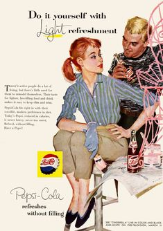 Be Sociable, Have a Pepsi: 30 Vintage Ads 1950s Ads, Retro Ads, Vintage Advertisements, Vintage Ads, Retro Advertising, Vintage Soul, Vintage Prints, Pin Up Posters, Poster Ads
